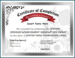 What Is Course Completion Certificate Different Kinds Of Certificate Of Completion Template 35