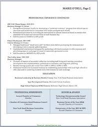 Fresh Retail Business Owner Resume Sample Resume Format Professional