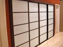 elegant sliding closet doors system for valuable space storage appealing sliding closet doors with brown