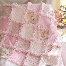 Baby Rag Quilts Pink Shabby Roses this link is to purchase not ... & Baby Rag Quilts Pink Shabby Roses this link is to purchase not  instructions. diy Adamdwight.com