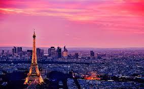 Paris Bedroom Wallpaper Download Eiffel Tower Paris City At Night Travel Wallpaper