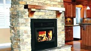 high efficiency wood fireplace stove