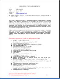 linux admin resume sample gallery creawizard com