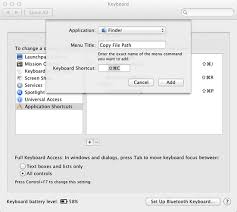 File Copy Mac Copy File Or Folder Path To The Clipboard In Mac Os X Lion Macyourself