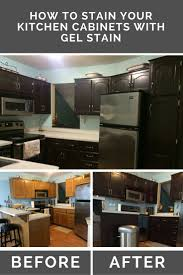 Kitchen Cabinets Stain 17 Best Ideas About Stain Kitchen Cabinets On Pinterest Staining