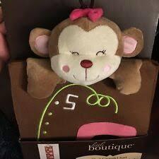 Little Boutique Monkey Plush Growth Chart