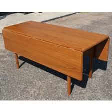 Drop Leaf Dining Table Danish Mid Century Modern Drop Leaf Dining Table Mr10548 Ebay