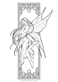 Fairy Coloring Pages For Adults Pin By Dominique Vincenzi Lummus On