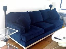 dark blue couch. Another Similar Option For A Navy Blue Velvet Sofa Is The Room Intended Bed Remodel 2 Dark Couch O