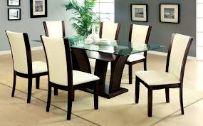 ... Lovely Gallery Stylish Design Person Dining Round Table Dimensions  Piece Glass Sets Set Circle Room Size ...