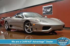 Ferrari 360 Spider Questions How Much Does It Cost An Old Ferrari 360 Spider Cargurus