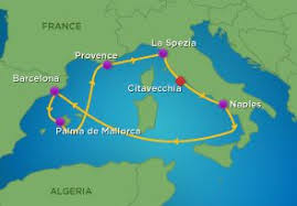 7 Night Western Mediterranean Cruise Royal Caribbean Oct