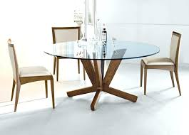 oak and glass round dining table glass dining table set for traditional dining table set