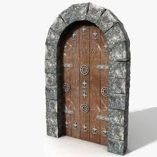 Medieval Doors blender door medieval castles 7364 by xevi.us