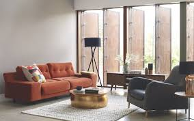 orange living room furniture. The Hendricks Sofa In Orange Living Room Furniture