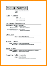 Find Resume Templates Word 40 The Resume Layout In Word 40 Unique Resume Lay Out