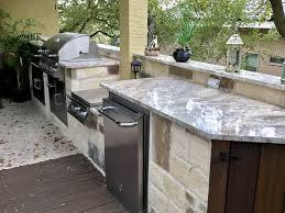 Custom Outdoor Kitchen Designs Amazing Outdoor Kitchen Builders San Antonio Diamond Decks