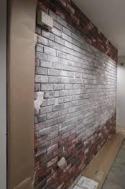 Painting Fake Brick Paneling Brick Painting Ideas Exterior Brick Paint Colors Minimalist Brick