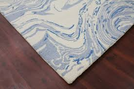 carrara 5 light blue hand tufted area rug by amer rectangle contemporary area rugs by plushrugs