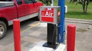 tire inflator gas station. free air tire inflator gas station a