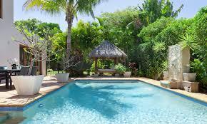 rectangular inground pool designs. Backyard Swimming Pool At Tropical Home Rectangular Inground Designs