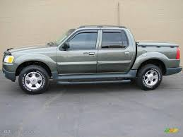 2003 Estate Green Metallic Ford Explorer Sport Trac Xlt 9703681