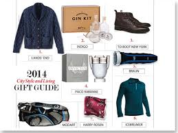 Holiday <b>2014</b>: Gift Guide for the <b>Gentleman</b> - City <b>Style</b> and ...