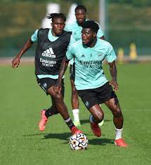 Arsenal first-team training ...