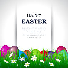 Easter Template Happy Easter Card Template Free