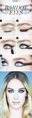 brigitte bardot eye makeup tutorial