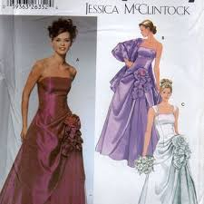 Simplicity Wedding Dress Patterns Magnificent Best Jessica Mcclintock Patterns Products On Wanelo