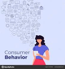 Consumer Behavior Chart Illustrations Consumer Behavior Stock Vector Emojoez