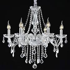 battery operated chandelier for bedroom unique boshen crystal chandelier 6 lights fixture pendant ceiling lamp for