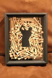 golf office decor. Golf Themed Office Decor Black Shadow Box Display Handmade With Tees For Home F