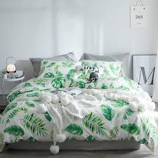 fern pattern bedding bedspread