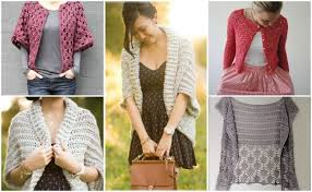 Crochet Cardigan Pattern Custom 48 DIY Crochet Cardigan Sweater Coat Free Patterns