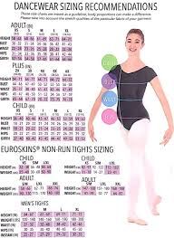 Eurotard Professional Mesh Back Seam Euroskins Tights Child
