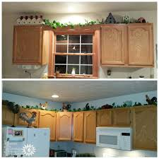 decorating above kitchen cabinets. Decorating Above Kitchen Cabinets: Ideas Tips Decorating Above Kitchen Cabinets O
