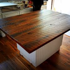 distressed wood kitchen countertop ideas for nice small kitchens