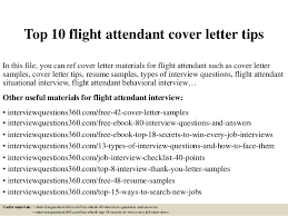 Best Solutions Of Top 10 Flight Attendant Cover Letter Tips 1 638 Cb