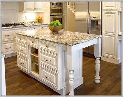 gorgeous granite top kitchen island stylish