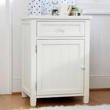 White beadboard bedroom cabinet furniture Small Bedroom Pbteen Beadboard Cabinet Nightstand Pbteen