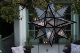 pottery barn outdoor lighting. Best Outdoor Moravian Star Light And Pottery Barn Lighting Moroccan Pendant With Votives Via