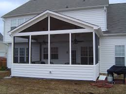 Designer Metal Frames Of Screen Porch Ideas For Attached Patio Decks As  Well As Sloping Roofs Small Porch Designs