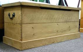 large toy boxes wooden