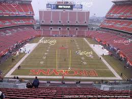 Cleveland Browns Stadium Seating Chart View First Energy Stadium Seating Chart Cleveland Browns Seating