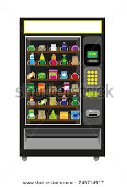Vending Machine Clip Art Free Interesting Vending Machine Black Color Isolated On Stock Vector Royalty Free