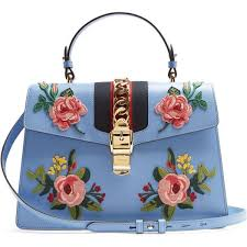gucci bags and wallets. gucci sylvie large floral-appliqué leather shoulder bag (10.870 brl) ❤ liked on bags and wallets e