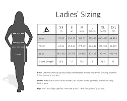 Polo Size Chart Women S Bermuda Sands Apparel Size Chart