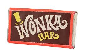 Willy Wonka and the Chocolate Factory Wonka Bar — The Collector's Catalog